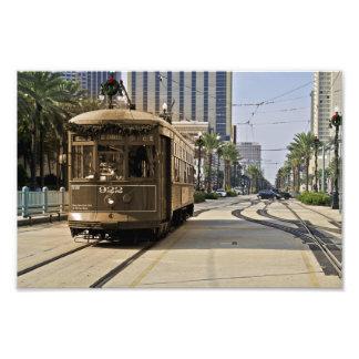 De tram noemde Wens Foto Afdruk