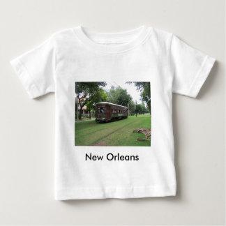 De Tram van New Orleans Baby T-shirt