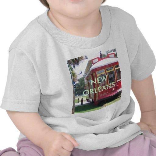 De Tram van New Orleans Tshirt
