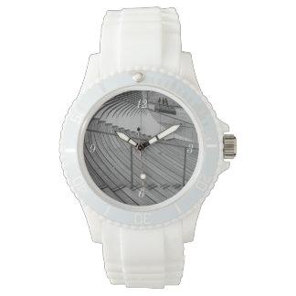 De Treden Grayscale van de Pijler van de marine Horloge