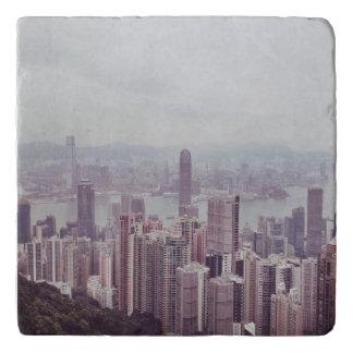 De Treeft van de Horizon van Hong Kong Trivet