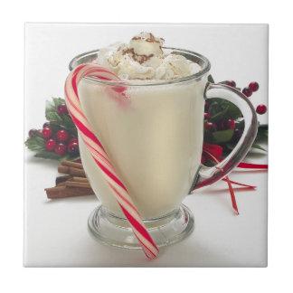 De Treeft van de Tegel van de Cacao van Kerstmis Tegeltje