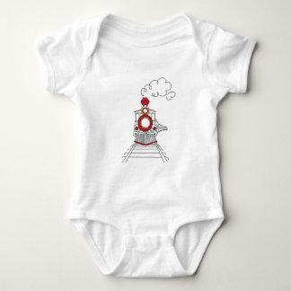 De trein choo-Choo van het T-shirt van het Baby