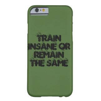De trein of blijft barely there iPhone 6 hoesje