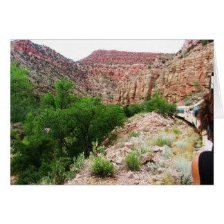 De Trein van Arizona - Zuidwesten in openlucht - Kaart