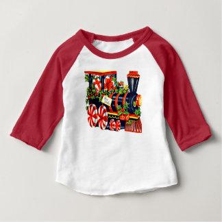De Trein van Choo Choo van het Snoep van de Baby T Shirts