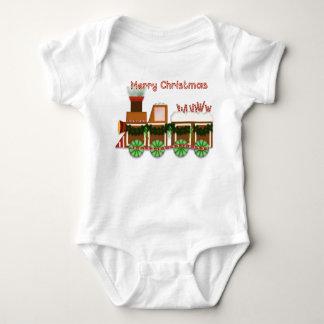 De Trein van Choo Choo van Kerstmis Romper