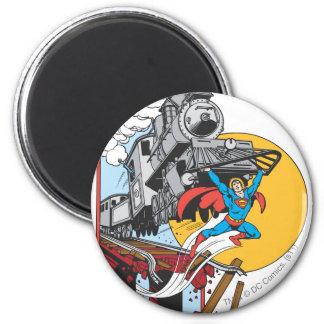 De Trein van de Liften van de superman Magneten