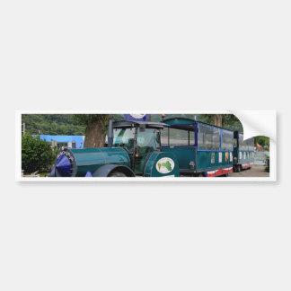 De trein van de Pendel van de toerist, Durnstein, Bumpersticker