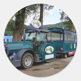 De trein van de Pendel van de toerist, Durnstein, Ronde Sticker