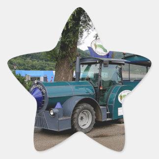 De trein van de Pendel van de toerist, Durnstein, Ster Sticker
