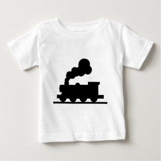 De Trein van de spoorweg Baby T Shirts
