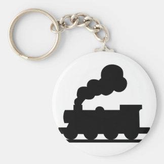 De Trein van de spoorweg Sleutelhanger