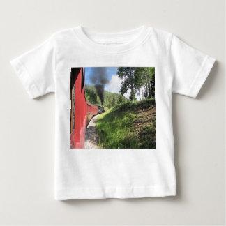 De trein van de stoom op T-shirt van Jersey van