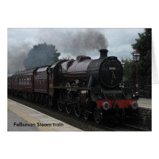 De trein van de Stoom van Fellsman Kaart
