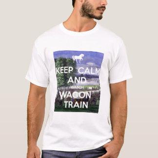 De Trein van de Wagen van het horloge T Shirt