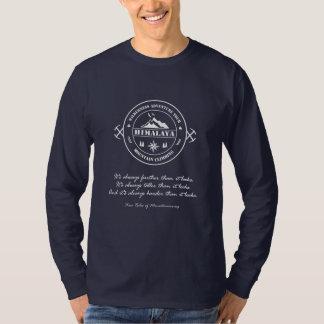 De Trekking van Himalayagebergte. Het beklimmen T Shirt