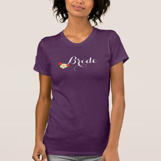 De tri-Bloem van de bruid T Shirt