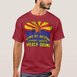 De tribune door Arizona - Steun SB1070 - T Shirt