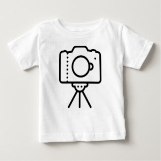 De Tribune van de Driepoot van de camera Baby T Shirts