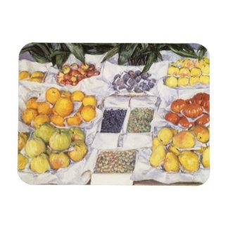 De Tribune van het fruit door Gustave Caillebotte, Magneet