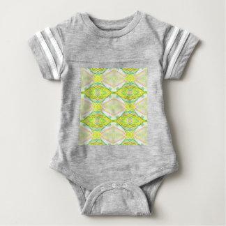 De trillende Heldere Pastelkleur van het Limoen Baby Bodysuit