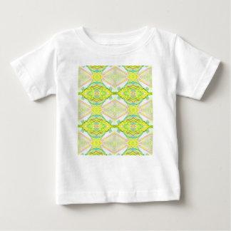De trillende Heldere Pastelkleur van het Limoen Baby T Shirts