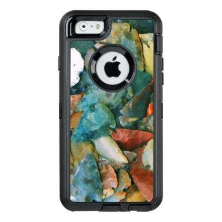 De trillende Pijlpunten van Kleuren OtterBox Defender iPhone Hoesje
