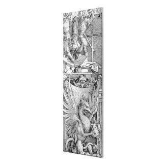 De triomfantelijke Boog van Keizer Maximilian I Canvas Print