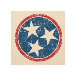 De TriSter van Tennessee Hout Prints