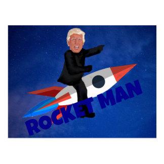 De troef berijdt een Raket Briefkaart