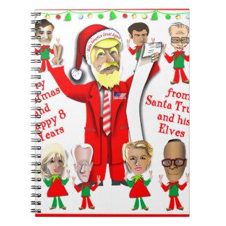 De Troef van de kerstman en zijn Elf Ringband Notitieboek