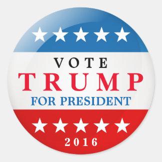 De Troef van de stem voor de Amerikaanse Ronde Sticker