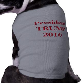 De Troef van het Overhemd van de hond Mouwloos Hondenshirt