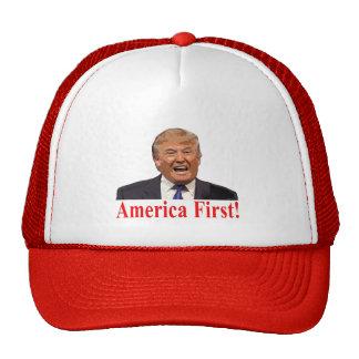 De Troef van het president: Amerika eerst! Trucker Pet