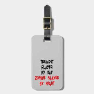 De Trompetter van de Moordenaar van de zombie Kofferlabel