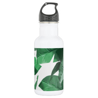 De tropische Fles van het Water van het Blad