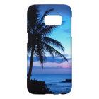 De tropische Foto van de Zonsondergang van het Samsung Galaxy S7 Hoesje