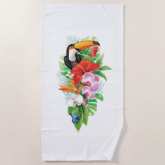 De tropische Handdoek van het Strand van de