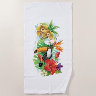 De tropische Handdoek van het Strand (van de