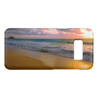 De tropische Hawaiiaanse Gouden Zonsondergang van Case-Mate Samsung Galaxy S8 Hoesje