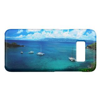 De tropische Hawaiiaanse Inham van het Eiland Case-Mate Samsung Galaxy S8 Hoesje