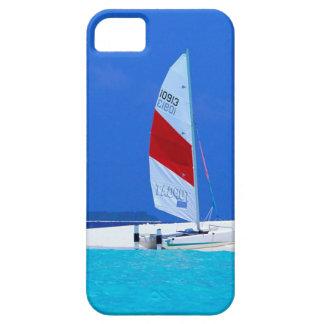 De tropische Hemel van het Roeien van de Maldiven Barely There iPhone 5 Hoesje