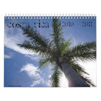 De Tropische Kalender van Costa Rica 2010 - 2011
