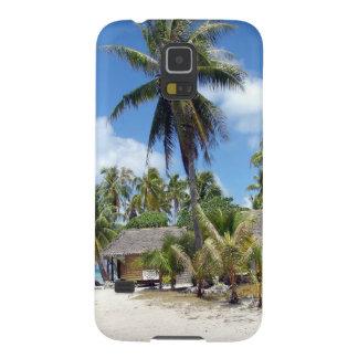 De tropische Keten van het Bosje van de Palm van Galaxy S5 Hoesje