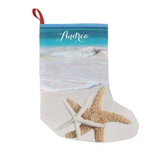 De tropische Kous van de Zeester van het Strand Kleine Kerstsok