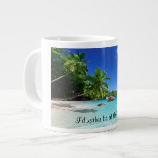 De tropische Mok van de Koffie van het Paradijs