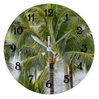 De Tropische Palmen van Hawaï Grote Klok
