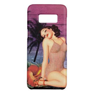 de tropische speld van de strand Hawaiiaanse bloem Case-Mate Samsung Galaxy S8 Hoesje