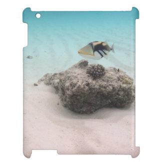 De tropische Vissen van het Koraal van de Lagune iPad Cover